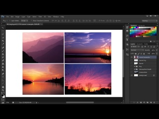 6. ������� ������� �������- Examining examples of sunsets [����� Photoshop]